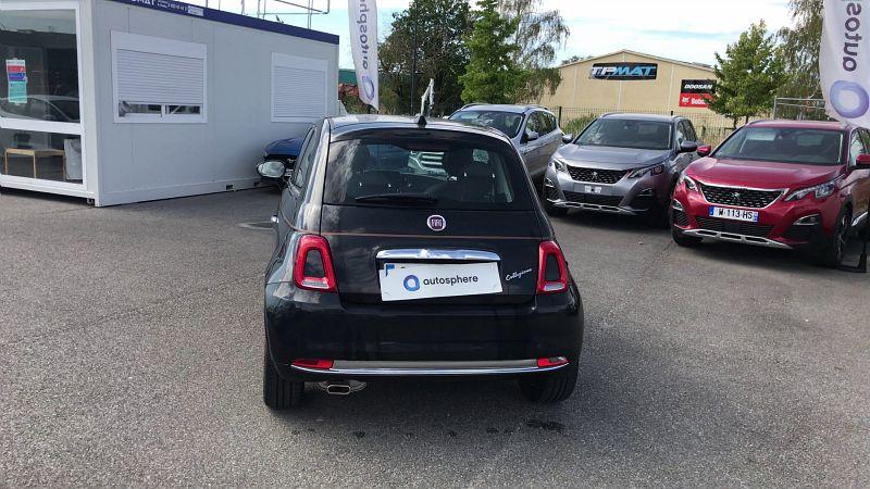 FIAT 500 1.2 8V 69CH ECO PACK COLLEZIONE FALL EURO6D - Miniature 4