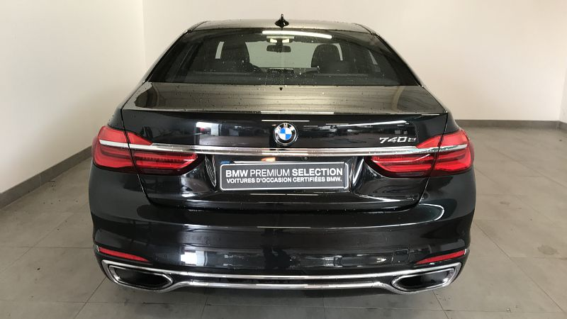 BMW SERIE 7 740EA IPERFORMANCE 326CH EXCLUSIVE - Miniature 4