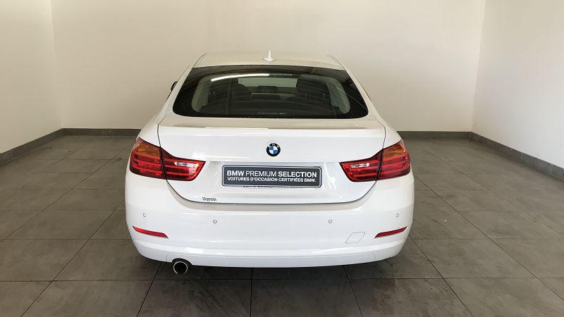 BMW SERIE 4 418DA 150CH LOUNGE - Miniature 4