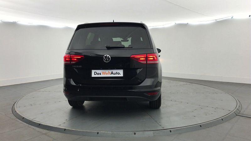 VOLKSWAGEN TOURAN 1.6 TDI 115CH FAP IQ.DRIVE 7 PLACES EURO6D-T - Miniature 4