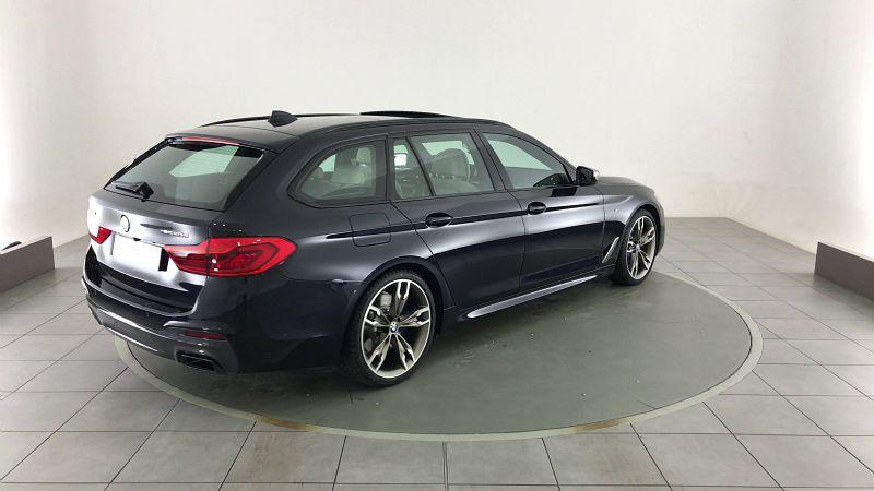BMW SERIE 5 TOURING M550DA XDRIVE 400CH STEPTRONIC EURO66-T 166G - Miniature 2