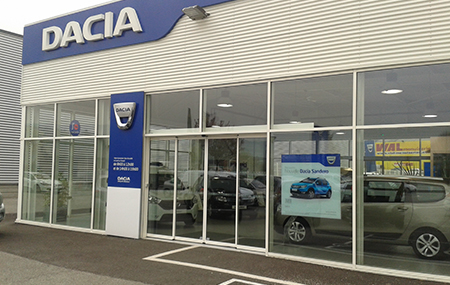 Concession Dacia Chambery