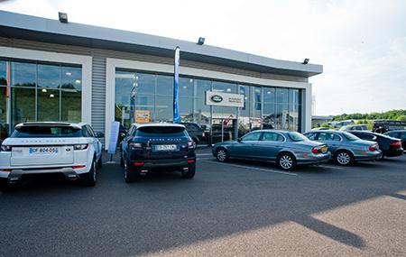 Concession Land Rover Fontainebleau
