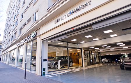 Concession Land Rover Paris 19