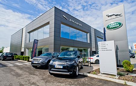 Concession Land Rover Lyon Sud