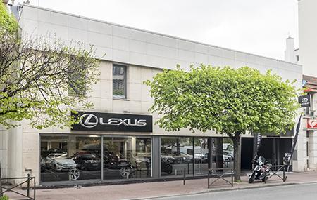 Concession Lexus Levallois