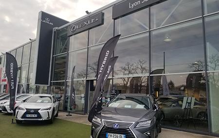 Concession Lexus Lyon Sud