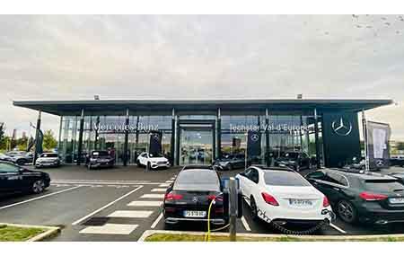 Concession Mercedes-benz Marne La Vallee