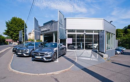 Concession Mercedes-benz Fontainebleau