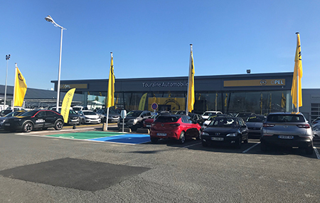 Concession Opel Saint-cyr-sur-loire