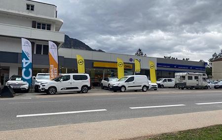 Concession Opel Sallanches