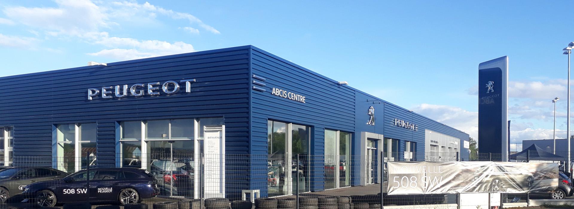 Photo de la concession PEUGEOT Montluçon
