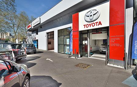 Concession Toyota Nanterre