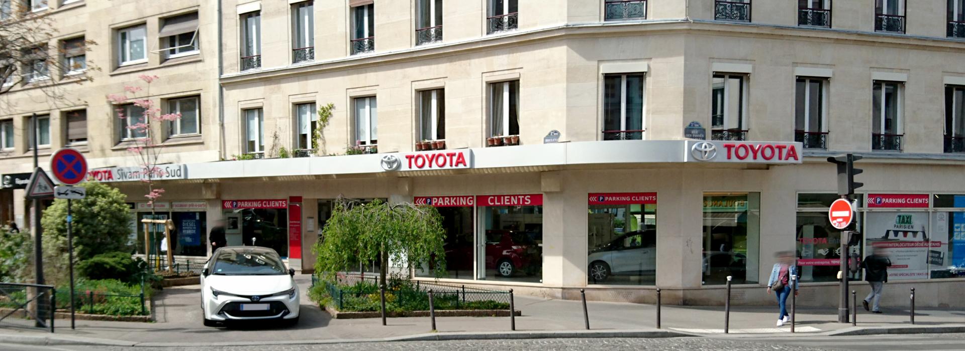 Photo de la concession TOYOTA Paris 5