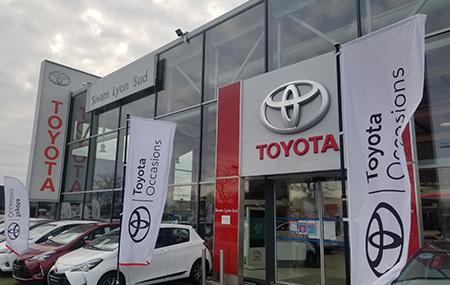 Concession Toyota Lyon Sud