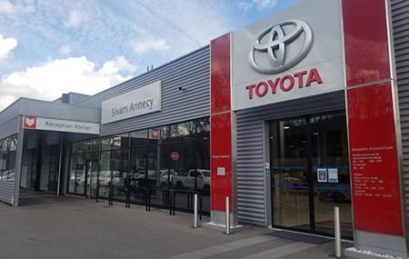 Concession Toyota Annecy
