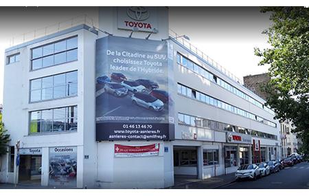 Concession Toyota AsniÈres-sur-seine