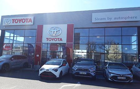 Concession Toyota Lyon Nord